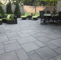 Superieur Cambridge Pavers For A Contemporary Patio With A Perennial Plants And Green  Island Design By Green Island Design