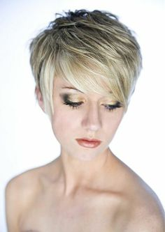 Short Hair Cuts for Fine Hair   short layered long top hairstyle   Hair