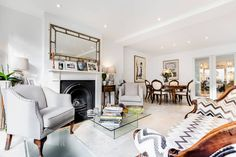 This stunning family home in the heart of Hampstead has 4 beautiful bedrooms, ample space for friends and family and garden space!