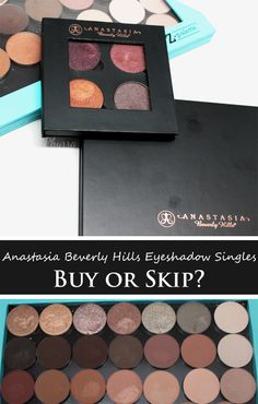Phyrra reviews a ton of the Anastasia Beverly Hills Eyeshadow Singles! Find out if they're worthy of a haul or you should skip!