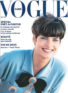 The Vidal Sassoon Effect: A Look Back at His Famous Cuts From the 1960s to Now: Linda Evangelista shot by Peter Lindbergh for Vogue Paris in 1980