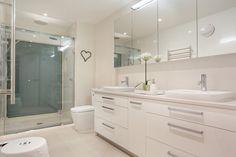 Açık Renk Muhteşem Banyo Dekorasyon Modelleri