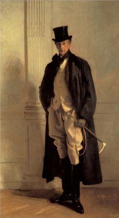 """Lord Ribblesdale,"" John Singer Sargent, Edwardian Period portrait of Thomas Lister, Baron Ribblesdale. Chef D Oeuvre, Oeuvre D'art, Sargent Art, Beaux Arts Paris, Giovanni Boldini, Belle Epoque, Larp, American Artists, Art History"