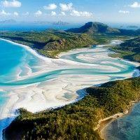 Amazing Whitehaven Beach in Australia