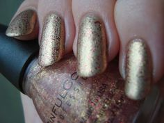 Sinful Colors Gilded over Gold Medal *click for more*