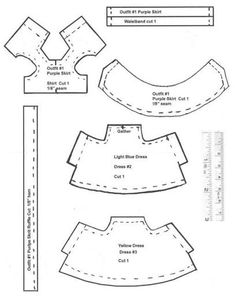 sylvanian clothes patterns | kelly patterns - popxena @ - Picasa Web Albums
