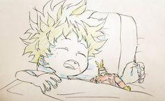 Un petit Izuku Midoriya de MY Hero Academia,...