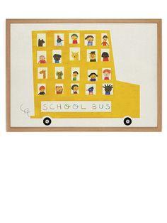 Human Empire Artist Series Schoolbus Poster (50x70cm)