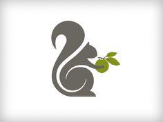 Squirrel Logo - Rebound