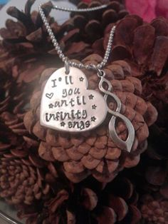 I love you until infinity ends by JustAnotherPastime on Etsy, $21.00