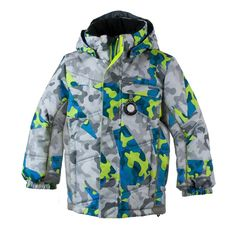 """Mesh^Nylon^Polyester^Twill Imported high wide FABRIC: HydroBlock Sport Polyester Strong Weave """"I-Grow"""" Extended Wear System Powder skirt - integrated, water-resistant, adjustable Show Ear Warmers, Coat Dress, Big Kids, Camo, Jackets For Women, Raincoat, Baby Boy, Boys, How To Wear"""