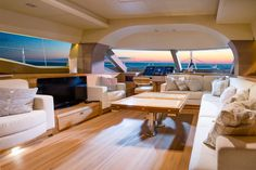 Luxury yacht interior  Isaras 50 Interior byDJF-solo