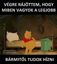 Ez rám is igaz. Funny Fails, Funny Memes, Jokes, Crafts For Boys, Really Funny, Winnie The Pooh, I Laughed, Bff, Haha