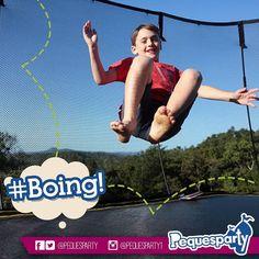 #brinca sin parar con nuestro #trampolin dedicado a proporcionarles un día muy divertido e inolvidable.  PequesParty Fábrica de Sonrisas!  #jump #fiesta #diversion #mcbo #vzla #kids #niños #fun #inflables #brincabrinca #pintacaritas #popcorn #saltar #brincar #yeah #cool #marketing #musica #animacion