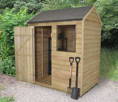 4 x 6 wooden shed