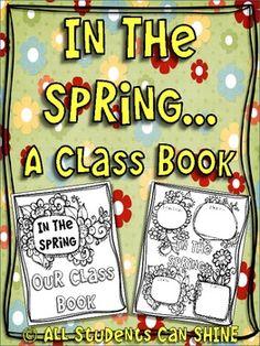In The Spring - A Class Book - FREEBIE!