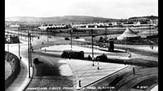 Anniesland road looking north from crow road. Gospel tent and looks like the toilets to the left. Family History Book, Glasgow Scotland, West End, T 4, Historical Photos, Old Photos, Transportation, Ireland, Toilets