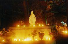 Jeden z cmentarzy w Bieszczadach...