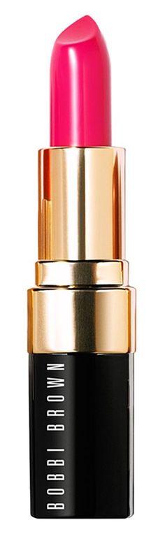 Creamy, semi-matte lip color. Love the bold shade!