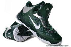 Mens 535272 300 Nike Zoom Hyperchaos Gorge Green White Metallic Silver Outlet