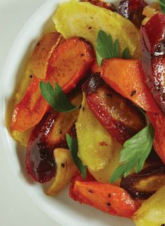 Morrocon Carrots, an easy salad that adds so much beauty to the table