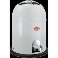 9 Litre Single Master Pedal Bin - White