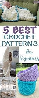5 Best Patterns for Crochet Beginners - Sewrella