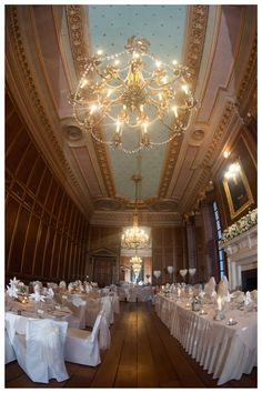The spectacular Ballroom at Gosfield Hall