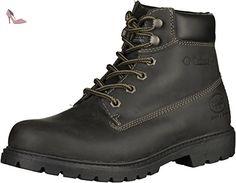 Dockers by Gerli 19pa040-400100, Desert Boots Homme, Noir (Schwarz), 45 EU - Chaussures dockers by gerli (*Partner-Link)