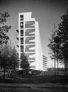 Paimio Sanatorium | credit : Gustaf Welin | Alvar Aalto Museum.