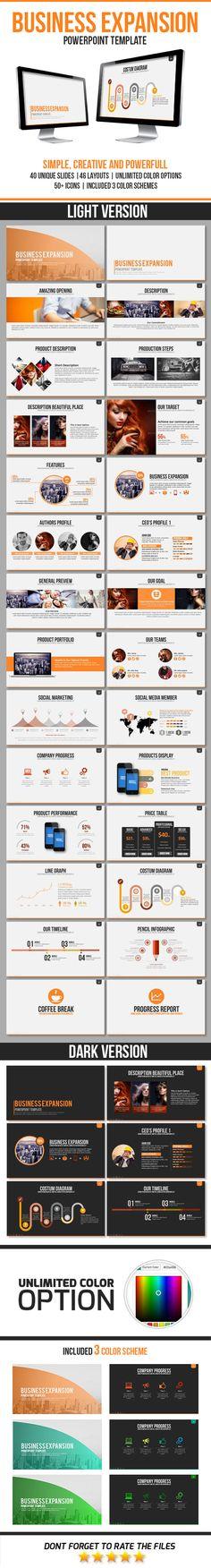 Zero Business Presentation PowerPoint Template #powerpoint - business presentation