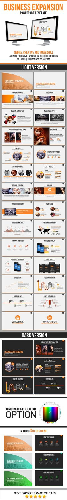 Business Expansion PowerPoint Template #presentation #design Download: http://graphicriver.net/item/business-expansion-powerpoint-template/11469964?ref=ksioks