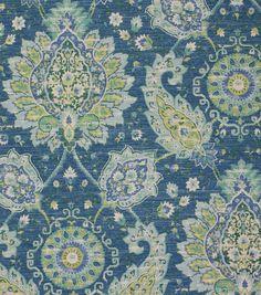 Two 26 x 26 Custom Pillow Covers /Euro – Designer Cotton – Large Floral Medallion Damask – Lime/Green/Blue/White - Antimacassar Custom Curtains, Custom Pillows, Diy Design, Fabric Design, Design Ideas, Interior Design, Kitchen Fabric, Home Decor Fabric, Fabric House