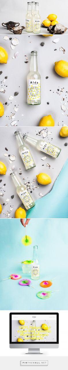 Alda Iceland Lemonade Packaging by Iceland Ocean Cluster | Fivestar Branding – Design and Branding Agency & Inspiration Gallery