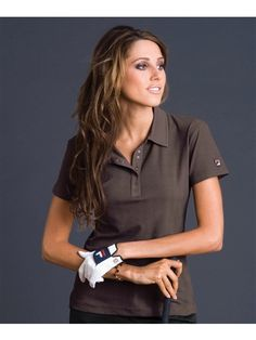 Soft textured golf polo in 4 colors | #golf4her