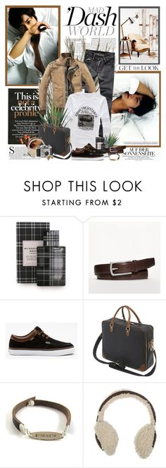 """""""Going the distance"""" by mizrose ❤ liked on Polyvore featuring McGinn, INC International Concepts, Coach, Vans, Mulberry, Sari Glassman and men's fashion"""