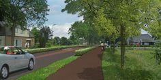 Ontwerpvisie voor de herprofilering van de cultuurhistorisch waardevolle… Sidewalk, Side Walkway, Walkway, Walkways, Pavement