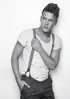 rockabilly men fashion suspenders - Google Search