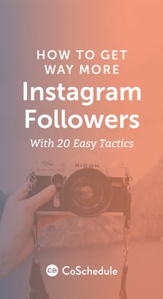 Download Your Free Instagram Follower Bundle Here! http://coschedule.com/blog/how-to-get-instagram-followers/?utm_campaign=coschedule&utm_source=pinterest&utm_medium=CoSchedule&utm_content=How%20To%20Get%20Way%20More%20Instagram%20Followers%20With%2020%20Easy%20Tactics