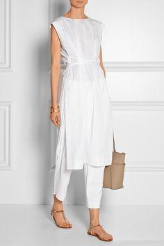 Maiyet   Cotton-poplin tunic   NET-A-PORTER.COM