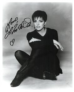 American actress, singer and dancer (b.1946), signed photo, 8 x 10 inches, excellent condition