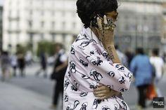 "frenchy-style: ""Unknown | Milan Fashion Week | SS15 """