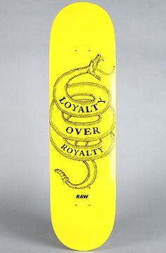 """""""Loyalty Over Royalty"""" in Size 8"""" by RAW"""