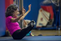 NATICK — At age 99, Tao Porchon-Lynch can bend and twist with the best of them.Recognized five years ago as the world's oldest yoga teacher,