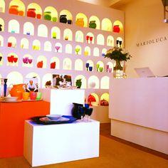 Mario Luca Giusti boutique in St. Tropez