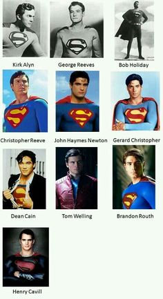 Who's your favorite Superman?