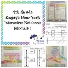 Are you looking for a way to bring the Engage New York curriculum to life? This resource is an important companion to fourth grade Engage New York Module Eureka Math 4th Grade, Fourth Grade Math, Fun Math, Math Activities, Math Math, Maths, Learn Math Online, Engage Ny Math, Elementary Math