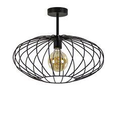 Plafondlamp draad open zwart 42.5cm Ceiling Lights, Led, Lighting, Pendant, Home Decor, Decoration Home, Room Decor, Hang Tags, Lights