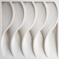 La fille blanc. Process Series by Mathew Shlian.