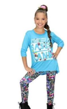 1000+ images about Maddie and mackenzie fashion on Pinterest | Maddie ziegler Long sleeve tees ...